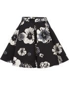 MSGM Floral A-Line Skirt - Lyst