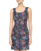 Cynthia Rowley Madras Plaid Silk Tank Dress - Lyst