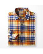 Uniqlo Men Flannel Check Long Sleeve Shirt - Lyst