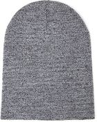 Forever 21 Stretch Knit Ribbed Beanie - Lyst