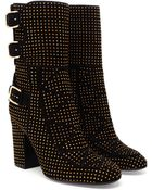 Laurence Dacade Merli Studded Suede Boots - Lyst