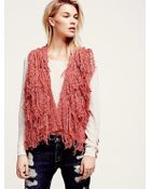 Free People Womens Pinata Parade Vest - Lyst