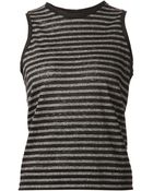 Rag & Bone/JEAN Striped Vest - Lyst