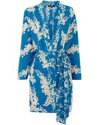 Oasis Oriental Belted Kimono Duster - Lyst