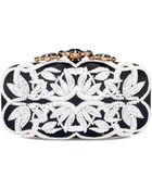 Oscar de la Renta Cordwork & Bead Embroidered Crown Goa - Lyst
