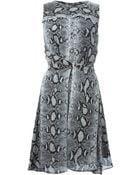 Proenza Schouler Python Print Dress - Lyst