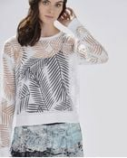 Parker Woodbury Sweater - Lyst
