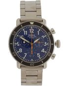 Shinola Natural Runwell Leather Strap Watch - Lyst