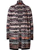 Missoni Variegated Knit Cardigan - Lyst