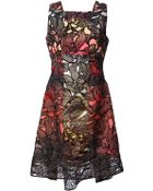 Peter Pilotto 'Eclipse' Lace Overlay Dress - Lyst