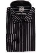 English Laundry Striped Long-Sleeve Dress Shirt - Lyst
