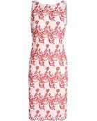 Alice + Olivia 3/4 Length Dress - Lyst