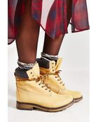 Steve Madden Pasa Lace-Up Boot - Lyst