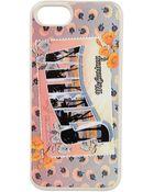 Stella McCartney Stella Greetings Print Iphone 5 Cover - Lyst