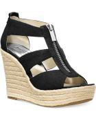 Michael Kors Michael Damita Platform Wedge Sandals - Lyst