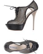 Grey Mer Laceup Shoes - Lyst