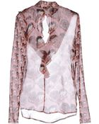 Marco Bologna Blouse - Lyst