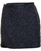 3.1 Phillip Lim Cloque Mini Skirt - Lyst