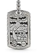 John Hardy Pre-Owned: Sterling Silver Small Pendant (Enhancer Only) - Lyst