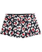 RED Valentino Woven Cotton Blend Shorts - Lyst