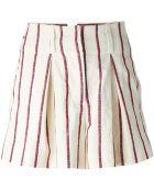 Etoile Isabel Marant Striped Shorts - Lyst
