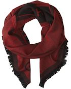 Givenchy Jacquard Wool Scarf - Lyst