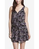 Express Floral Print Woven Cover-Up - Lyst