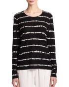 Joie Dorianna Striped Cashmere Sweater - Lyst