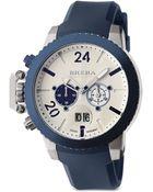 Brera Militare Ii Chronograph Watch - Lyst