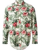 Off-White Tropical Print Shirt - Lyst