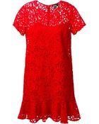 DKNY Lace Dress - Lyst