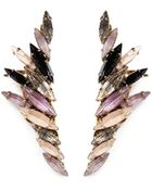 Erickson Beamon 'Fortune Hunter' Crystal Wing Ear Cuffs - Lyst