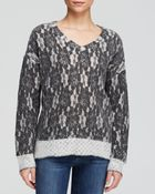 Kut From The Kloth Nancy Lace Knit Sweater - Lyst