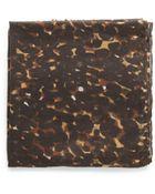 Mango Leopard Print Scarf - Lyst