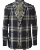 Etro Checked Suit - Lyst