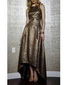 Sachin+babi Highlow Brocade Skirt - Lyst