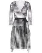 Diane von Furstenberg Riviera Silk Wrap Dress - Lyst