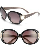 Ferragamo 'Gancino' 57Mm Sunglasses - Lyst
