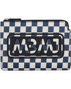 Marc By Marc Jacobs Sophis Print Checkerboard Pouch - Lyst
