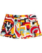 DSquared² Printed Silk Shorts - Lyst
