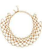 Oscar de la Renta Twisted Rope Necklace - Lyst