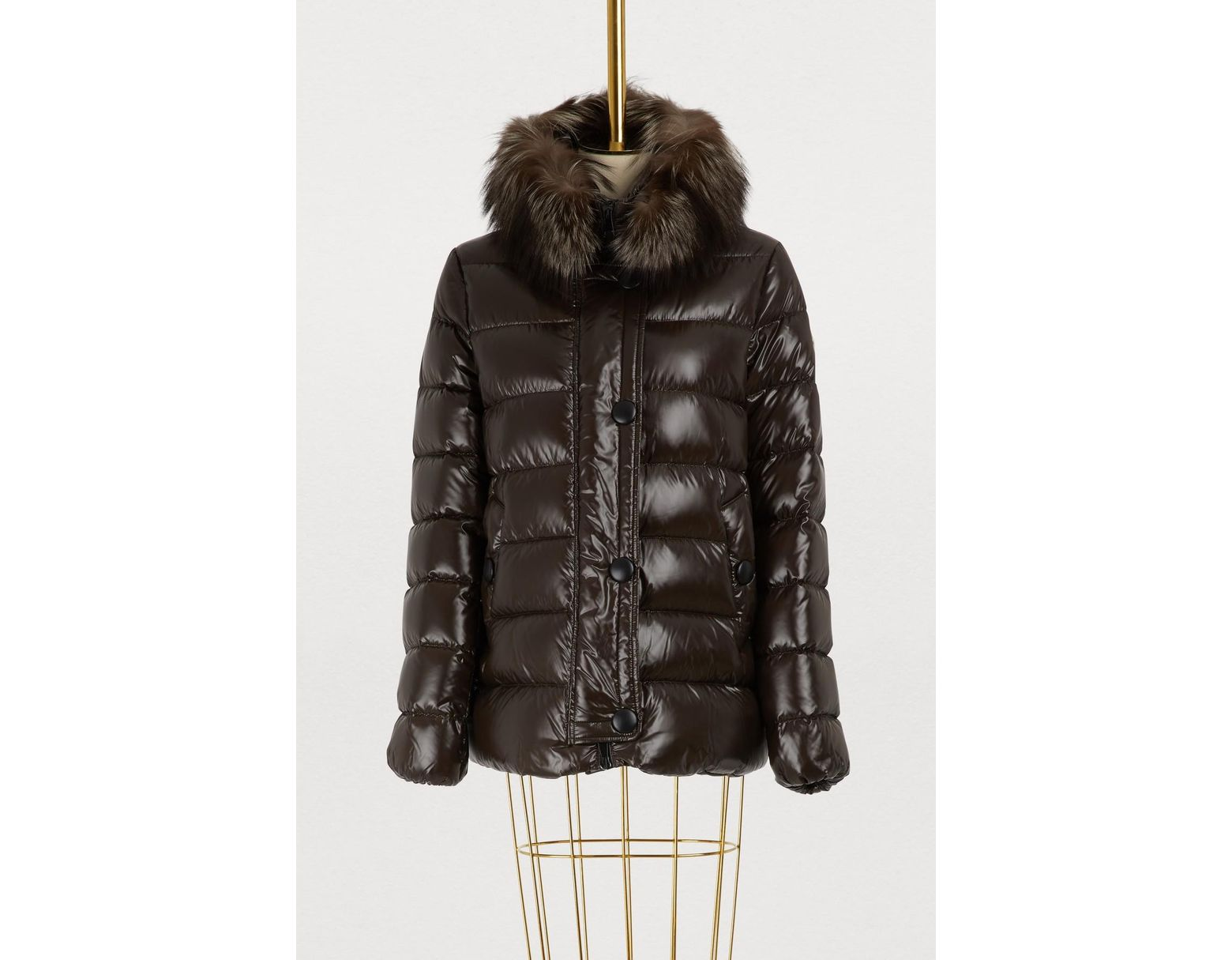 1a3059b18 Moncler Tarier Jacket in Brown - Save 10% - Lyst