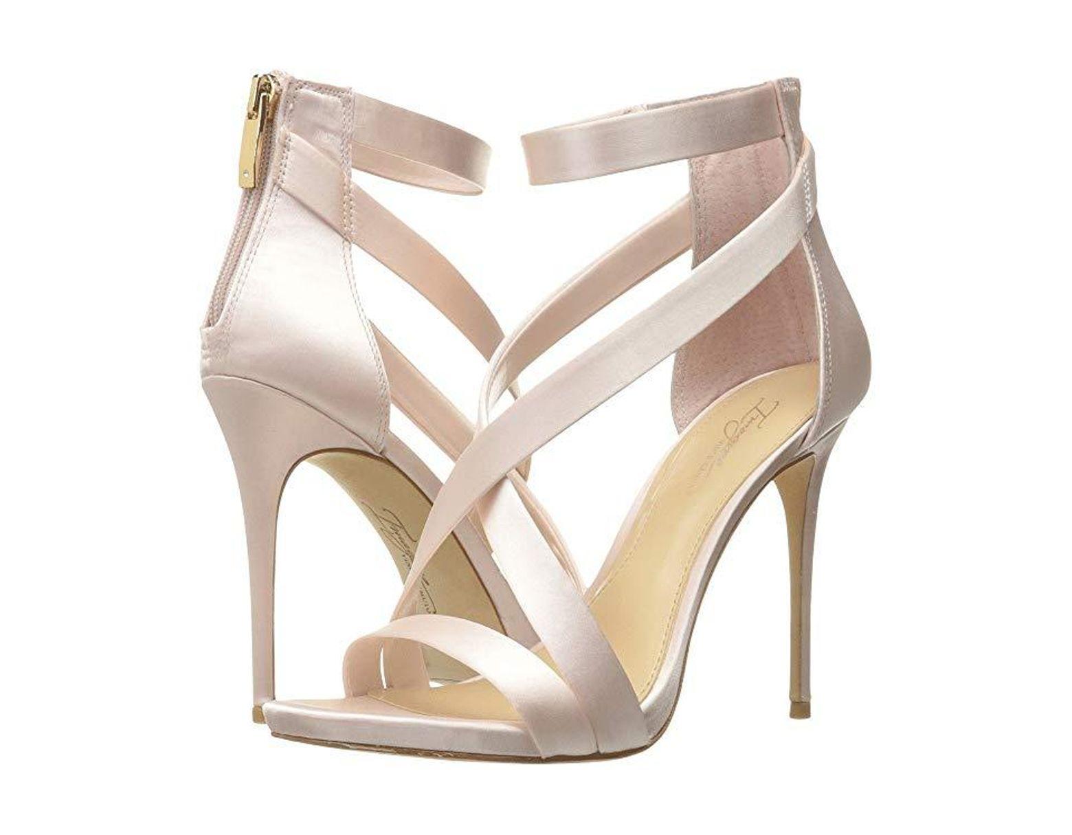 074f412c6 Vince Camuto Imagine Devin High Heel Dress Sandals in Metallic - Save 8% -  Lyst
