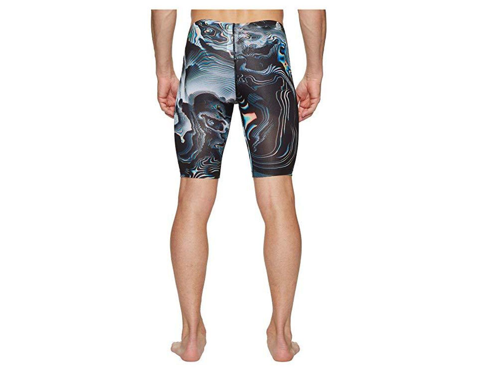 fc95a4edda Nike Geo Aftershock Jammer (black) Swimwear in Black for Men - Save 28% -  Lyst