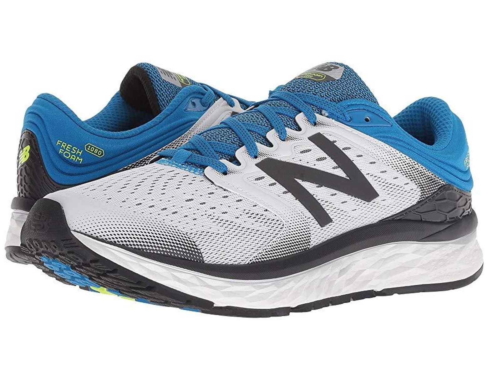 Men's Fresh Foam 1080v8 (whitelaser Blue) Running Shoes