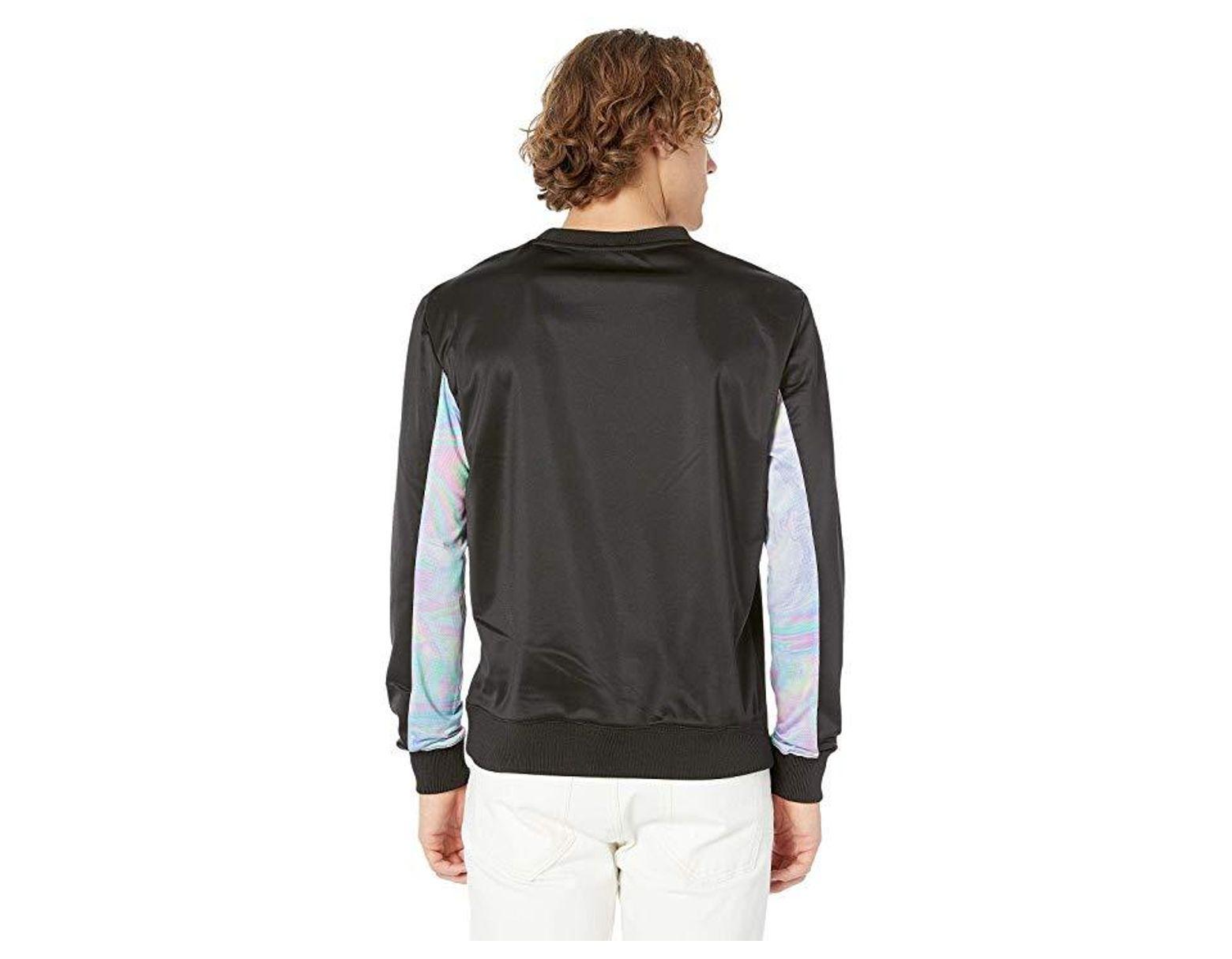 ed6ff0e0 Fila Walter Crew (black/pastel Lilac) T Shirt in Black for Men - Save 33% -  Lyst
