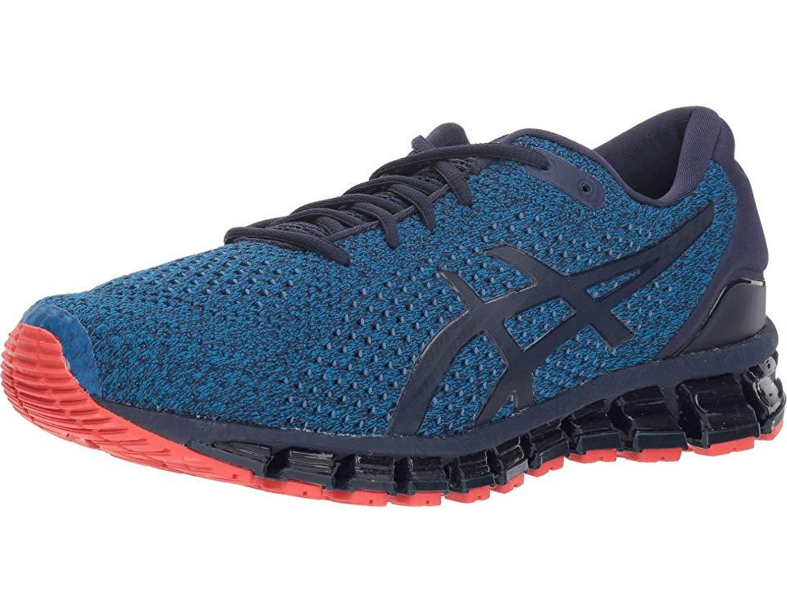 best sneakers bd1fe 90d1b Asics Gel-quantum 360 Knit (race Blue peacoat) Running Shoes in Blue for  Men - Lyst