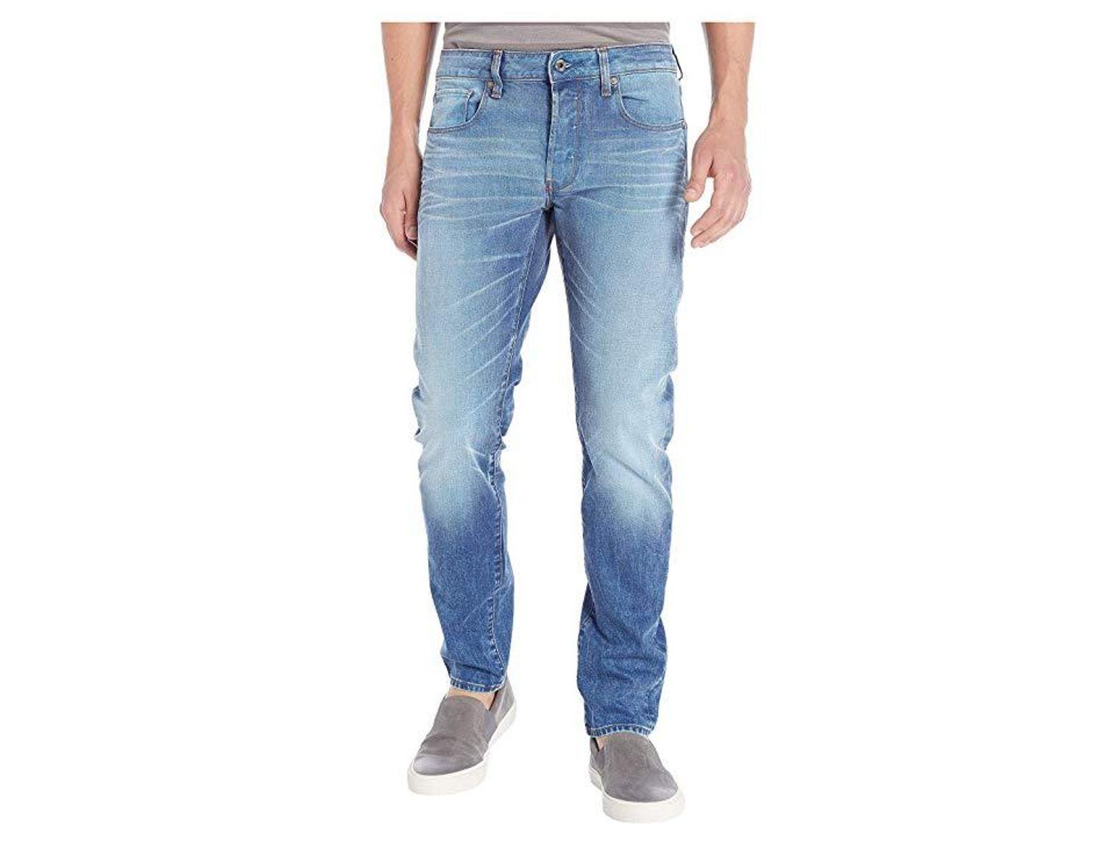 fc10547fc66 G-Star RAW 3301 Slim In Itano Stretch Denim Light Aged (itano Stretch Denim  Light Aged) Jeans in Blue for Men - Save 9% - Lyst