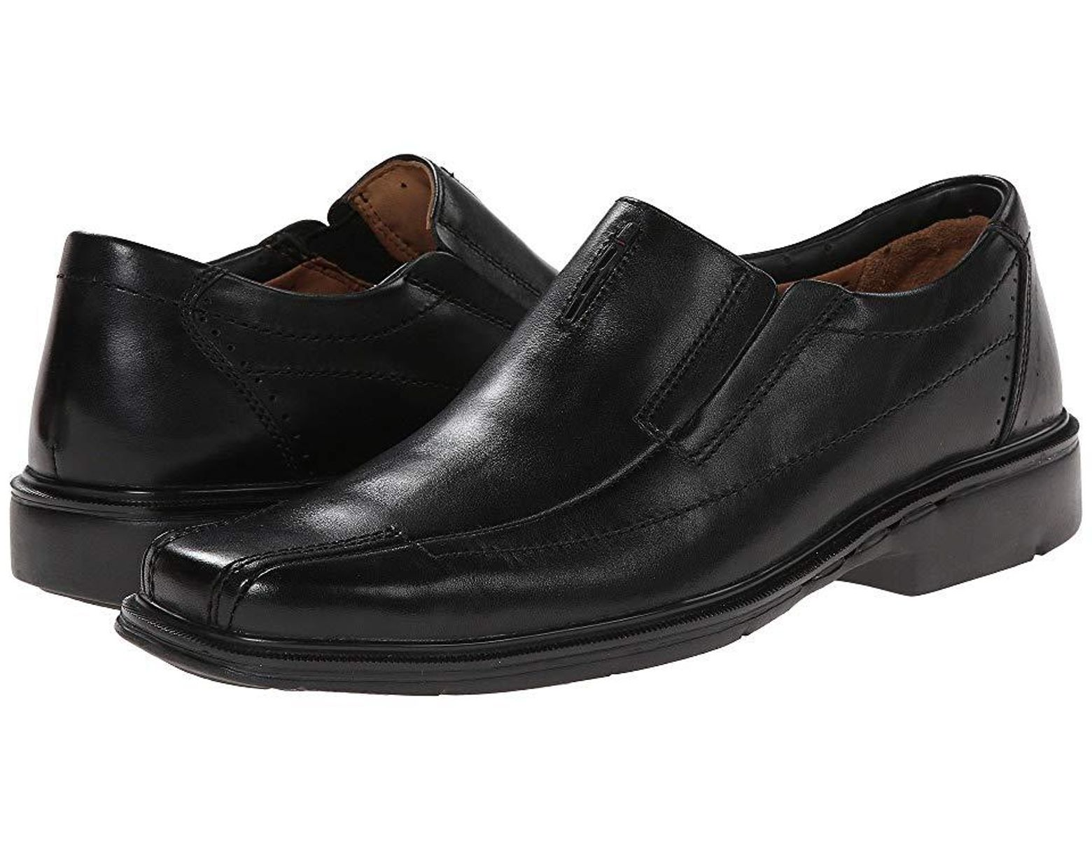 on feet at famous brand superior quality Men's Un.sheridan (black Leather) Slip-on Dress Shoes