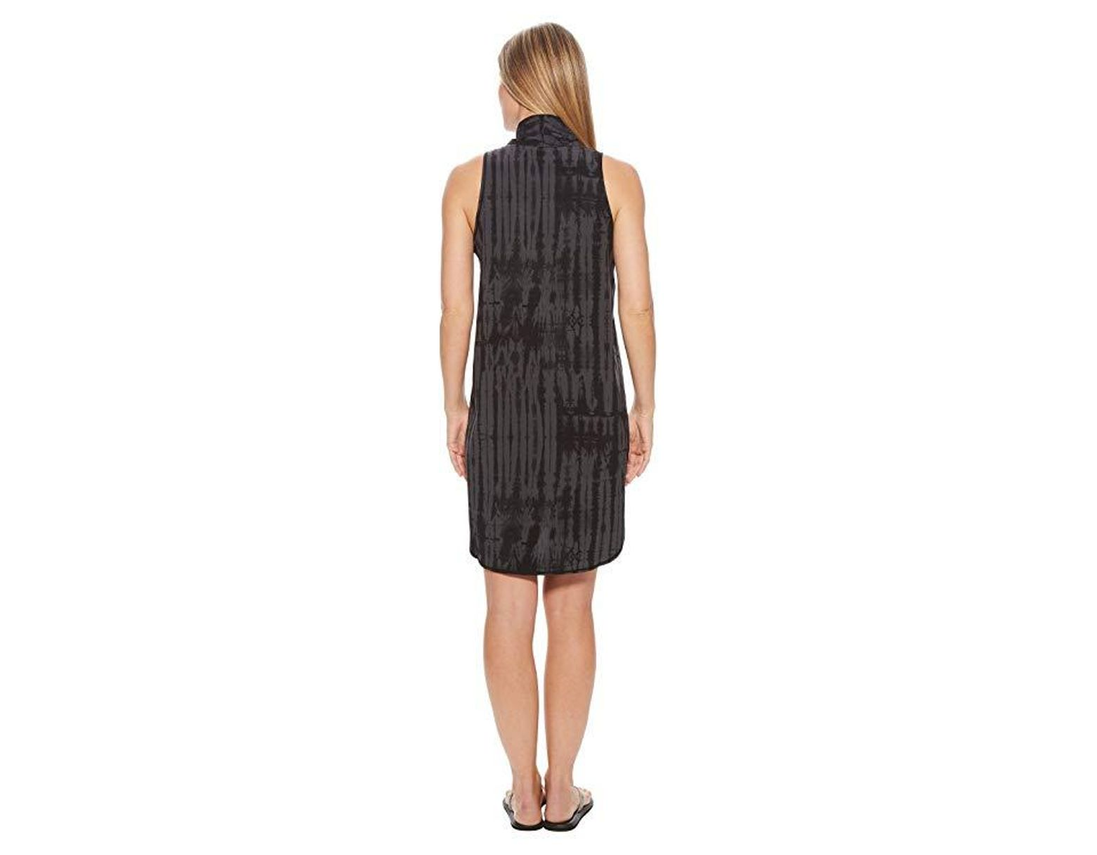 474c32b7d4 The North Face Destination Anywhere Dress (tnf Black Shibori Print) Dress  in Black - Save 20% - Lyst